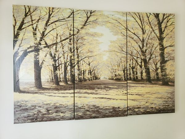 3 piece wall painting