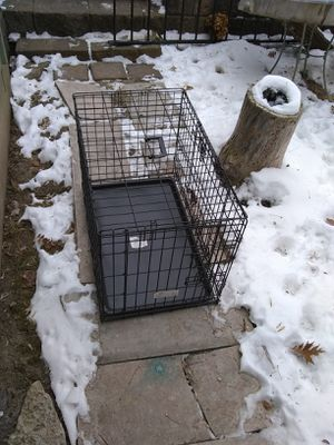 Wire Dog Kennel Crate for Sale in New Brighton, MN