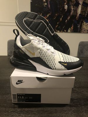 New Nike Air Max 270 Metallic Gold Size 11.5 for Sale in Buena Park, CA
