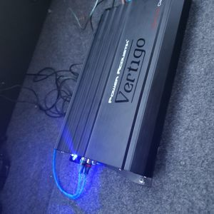 Power Acoustik Vertigo 6000watt Amp & Bass Knob $250 for Sale in Oklahoma City, OK