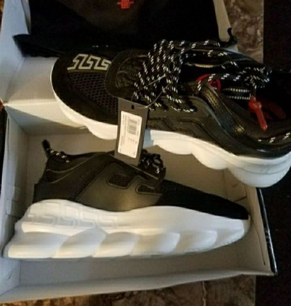 (Pick up TODAY) Brand New w/ tags Mens Versace Chain Reactions ( Size 7 and 10)