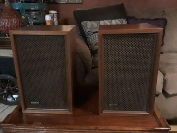 Speakers by Sony vintage