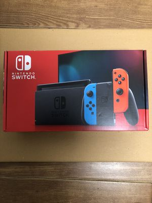 Nintendo Switch with Neon Blue and Neon Red Joy‑Con for Sale in Miami, FL