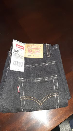 Levi's 550 size 12 with tags for Sale in Riverside, CA