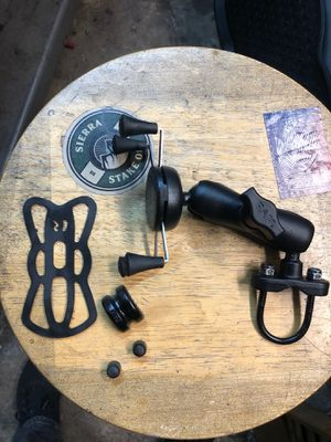 Ram phone mount /holder for motorcycle/bicycle Harley honda for Sale in Signal Hill, CA