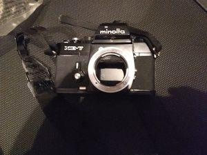 Minolta xe-7 35mm camera body with strap for Sale in Sacramento, CA