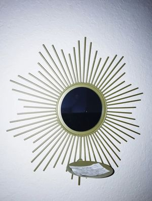 Small Sunburst Metal Wall Mirror for Sale in Alafaya, FL