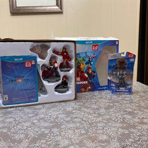 Disney Infinity Marvel Súper Hero's Wii U for Sale in Spanaway, WA