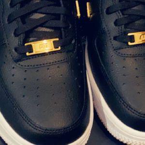 Air Force 1s Gold Nike Checks for Sale in Marietta, GA