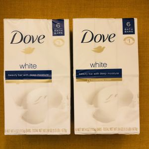 Dove Beauty Bar Soap 6bar Pack for Sale in Silver Spring, MD