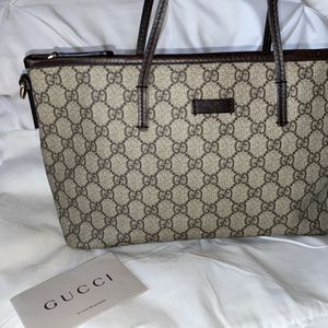 Gucci GG Supreme Monogram Medium Tote for Sale in Queens, NY