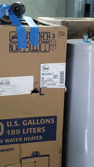 Water Heaters 40 and 50 gal special $ for Sale in El Cajon, CA