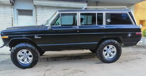 1986 Jeep Grand Wagoneer, incredible condition, new rims/tires, clean title and current registration. Unbelievable condition! for Sale in San Diego, CA