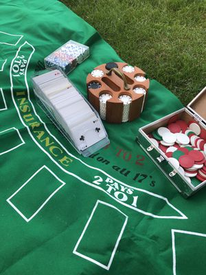 Poker set for Sale in Bedford Park, IL