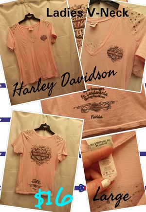 Women's Harley Davidson top for Sale in South Amherst, OH