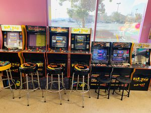 Arcade game machines just restocked! Limited quantity available for Sale in Moreno Valley, CA