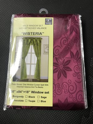 One window curtain for Sale in Pataskala, OH