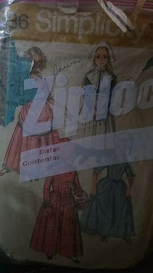 Vintage clothes patterns for Sale in Phoenix, AZ