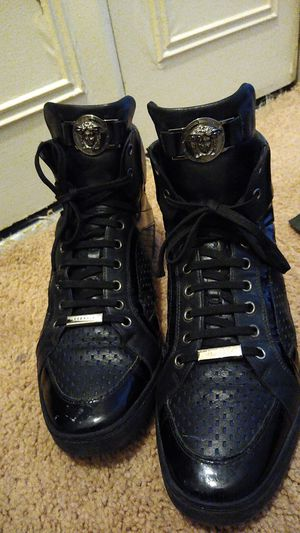 Size 10 Versace boots made in Italy for Sale in Oxon Hill, MD