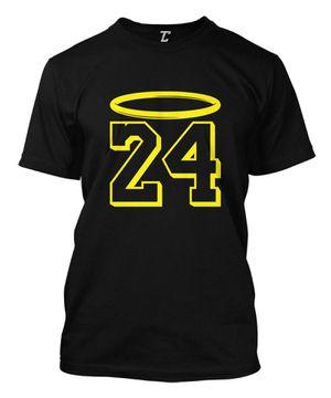 Los Angeles Lakers Kobe Bryant Black Mamba 24 LA NBA Basketball Tshirt T Shirt for Sale in Long Beach, CA