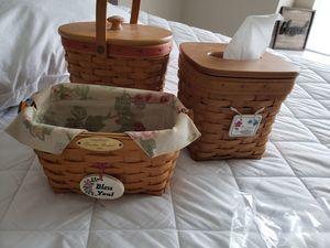 Longaberger baskets for Sale in Walton, KY