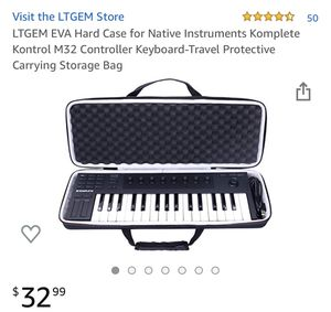 Hard Case for Native Instruments Komplete Kontrol M32 Controller Keyboard-Travel Protective Carrying Storage Bag for Sale in Alexandria, LA