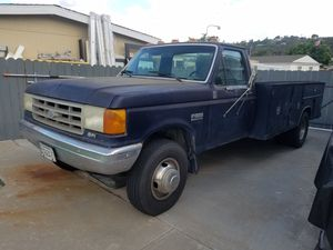 1989 Ford F-Series Utility Truck for Sale in El Cajon, CA