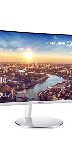 SAMSUNG LC34J791WTNXZA 34-Inch CJ791 Ultrawide Curved Gaming Monitor, White for Sale in Livermore,  CA