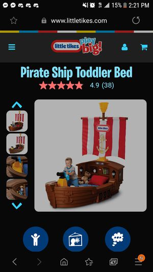 Little Tikes: Pirate Bed for Sale in Tacoma, WA