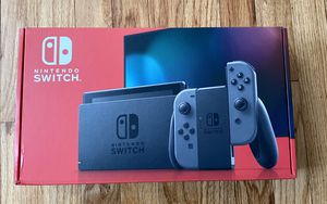 Factory Sealed Nintendo Switch Grey Joycons 32 GB for Sale in Winthrop, MA