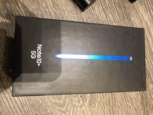 Unlocked Samsung Note 10+ 5G (Pristine Condition) 256Gb Black. for Sale in Hyattsville, MD