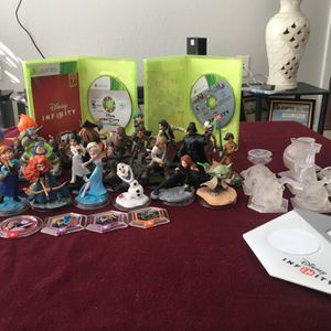 Disney Infinity Bundle BARELY TOUCHED for Sale in Fort Lauderdale, FL