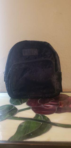 Victoria Secret Pink Luxe Velvet Mini Backpack for Sale in Bellflower, CA