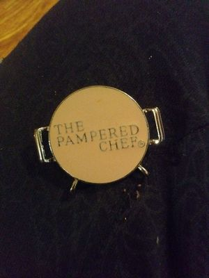 The Pampered Chef pin with charms for Sale in Denver, CO