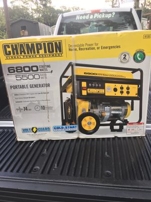Champion Generator for Sale in Tampa, FL