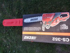 Echo chainsaw cs352 for Sale in Phoenix, AZ