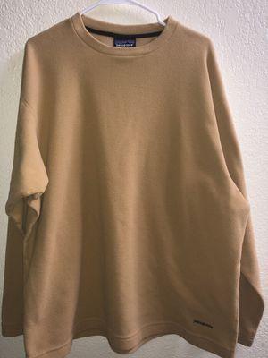 Patagonia synchilla khaki shirt for Sale in Salinas, CA