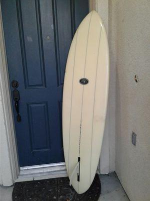 "6'4"" Steve Brom triple stringer single fin Surfboard for Sale for Sale in Wildomar, CA"