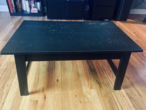 Black coffee table for Sale in Denver, CO