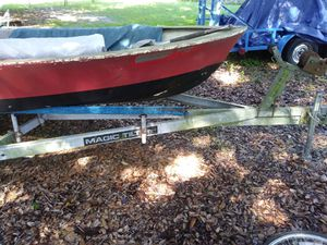 Fiber glass fishing boat for Sale in Lakeland, FL