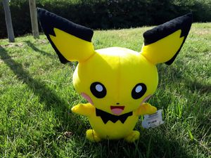 """Pokemon Character Plush 15"""" Pichu Toy Factory 3135110 for Sale in Monterey Park, CA"""