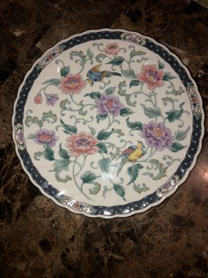 Cake Plate with gold trim - Made Expressly For Federated Department Stores Japan for Sale in Hayward, CA