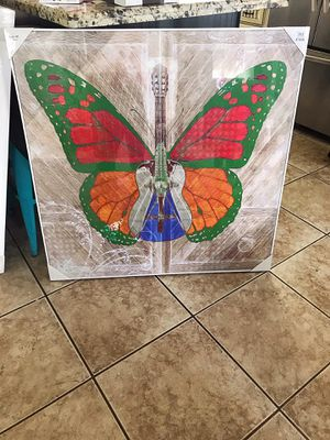 Extra large new Butterfly picture for Sale in Houston, TX