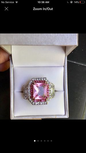 Sterling silver plated ring jewelry accessory size 6.75,7,8 available for Sale in Silver Spring, MD