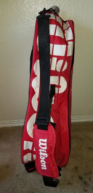 RACKET CASE, SLEEPING BAG AND COUCH for Sale in Irving, TX