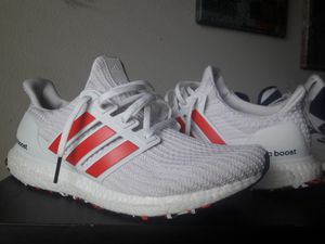 Ultraboost red stripes for Sale in Tacoma, WA