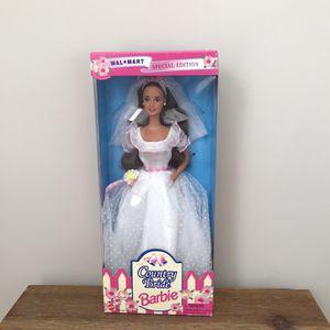 1994 Special Edition Country Bride Brunette Barbie for Sale in Manassas, VA