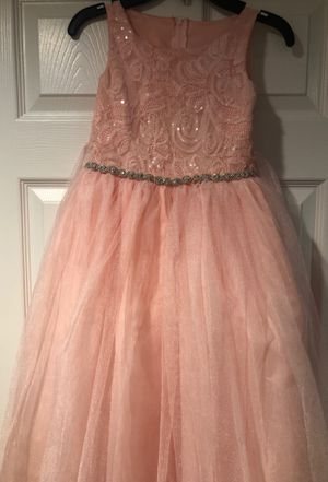 Girls flower dress size 8 for Sale in Chicago, IL