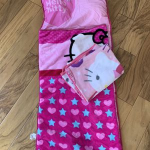 Hello Kitty Sleeping Bag And Extra Blanket for Sale in Irvine, CA
