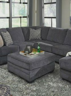 💱Best Dea☕Tracling Slate RAF Sectional by Ashley for Sale in Washington,  DC